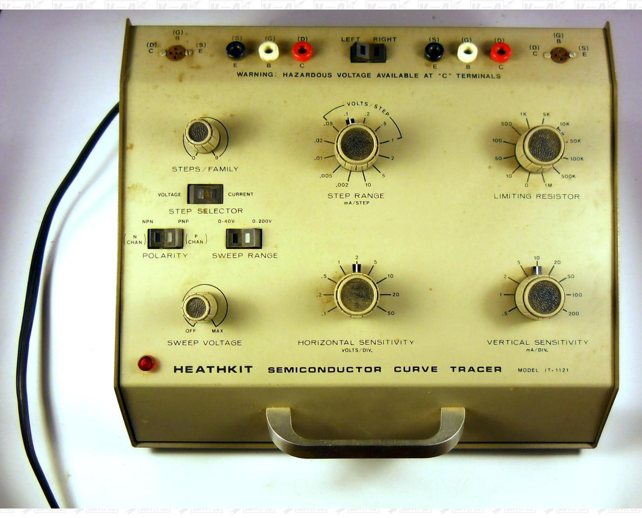 Heathkit Semiconductor Curve Tracer Model IT-1121