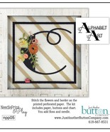 C Alphabet Art Needleprint & Play Perforated Pa... - $12.00