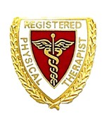 Registered Physical Therapist Lapel Pin Caduceu... - $12.97
