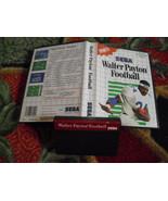 Walter Payton Football (Sega Master, 1989) - Ca... - $17.51