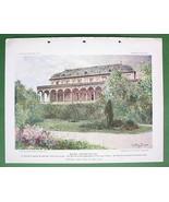 PRAGUE Praha Belvedere Summer House of Queen An... - $14.84