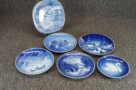Assorted Christmas Collector's Plates (6 Plates) - $60.00