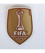 FC BARCELONA FIFA CLUB WORLD CHAMPION 2015 PATC... - $9.99