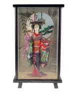 Vintage Wisteria Maiden Fuji Musume geisha doll... - $30.00