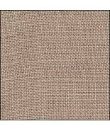 FABRIC CUT 32ct creek bed brown 12x18 for Four ... - $13.00