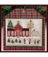 Schoolhouse #11 Hometown Holidays cross stitch ... - $5.40