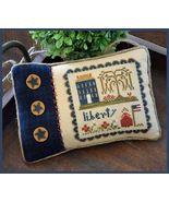 Little Lady Liberty cross stitch chart Little H... - $5.40