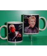 Barry Manilow 2 Photo Designer Collectible Mug - $14.95