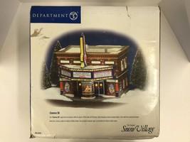 Dept 56 Snow Village Cinema 56 Movie Theater #5... - $68.00