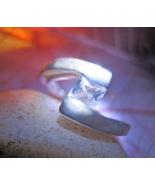 Haunted RING 4 QUARTERS ESBAT HIGH MAGICK 925 R... - $52.77