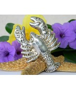 Vintage Lobster Brooch Pin Pendant Bat Ami Isra... - $94.95
