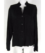 TIANELLO 100% Tencel Jillian Jacket Button Fron... - $28.99