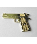 COLT 45 REVOLVER 1911 PISTOL GUN GOLD COLOR LAP... - $4.46