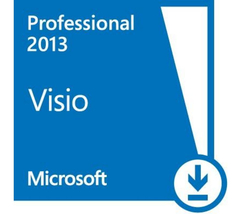Microsoft Visio Professional 2013 32/64-bit (En... - $59.99
