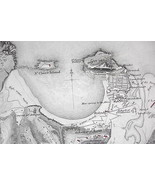 1848 Fine Quality Map - SPAIN St. Sebastian & E... - $17.82