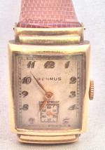 Men's Vintage Benrus 14K Gold Watch Circa 1940s - $435.38