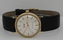 Vintage Benrus Hand-Winding 14K Yellow Gold Sil... - $861.97