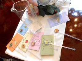 Disney Cinderella 6 Cocktail Recipe Cards & Swi... - $48.51