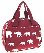 Elephant Print Insulated Lunch Bag Tote Alabama... - $21.99