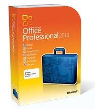 Microsoft Office Profe  ssional   2010 Full Ret... - $69.99