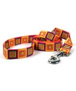 Ellen Crimi Trent Orange Blocks Dog Leash - $14.99 - $16.99