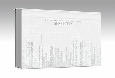 Sex and the City - The Complete Series (DVD, 2010, Deluxe Edition; White Leather