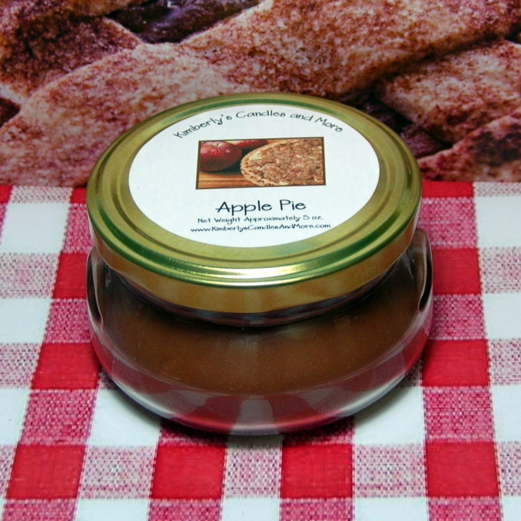 Apple Pie 6 oz  Tureen Jar Wickless Candle