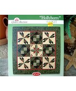 Hollyberry Designer Wall Quilt Kit The Quilt Co... - $14.95