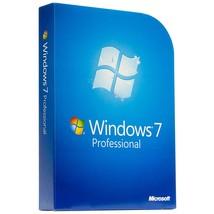 Microsoft Windows 7 Professional OEM 32/64-BIT ... - $25.00