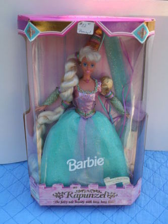 Mattel's 1994 Rapunzel Barbie - First Edition - Children's Collector Series