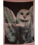 DEFTONES Diamond Eyes Owl Textile Fabric Cloth ... - $12.56