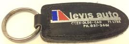Vintage Car Dealership Leather Promo Keychain L... - $6.11