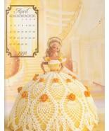 Annie Potter April 1992 Barbie Gown Fashion Cal... - $5.99