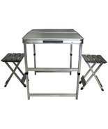 Portable Foldaway Table and Chair set - $62.99