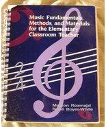 Music Fundamentals Methods Materials for Elemen... - $8.00