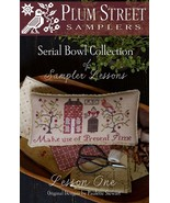 Sampler Lesson One CHART ONLY cross stitch char... - $9.00