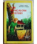 Nancy Drew #3 THE BUNGALOW MYSTERY hc/dj 1976 B... - $9.99