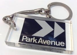Vintage Black & White Promo Keychain PARK AVENU... - $7.67