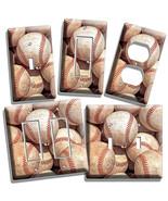 BASEBALL OLD RUSTIC BALLS LIGHT SWITCH POWER OU... - $7.99 - $14.39