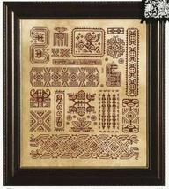 Mother Maya cross stitch chart Ink Circles  - $12.60