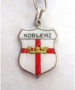 Vintage 835 Silver & enamel Koblenz, Germany Sh... - $8.90