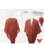 Blythe Faroese-Style Shawl Crochet Pattern Caro... - $6.50
