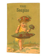 Victorian Trade Card Advertising Soapine Soap K... - $8.90