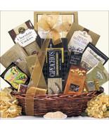 Gourmet Kosher ~ Medium: Kosher Gold Gift Baske... - $97.99