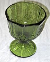 EUC Vintage Indiana Colony Glass Green Harvest ... - $14.84