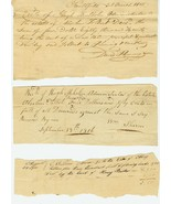 Early 19th c. (1816-1818) OHIO Estate Documents... - $12.00