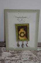 Hallmark Marjolein Bastin SNOWMAN Pin~ New on C... - $9.50