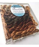 Brown French Silk Set Limited Edition Collectio... - $19.80
