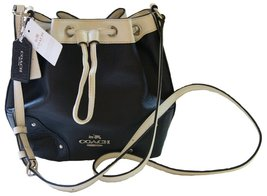 Coach Spectator Leather Baby Mickie Drawstring ... - $183.15
