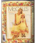 McCall's 2102 Mommy & Me Misses & Girls Dress, ... - $6.00